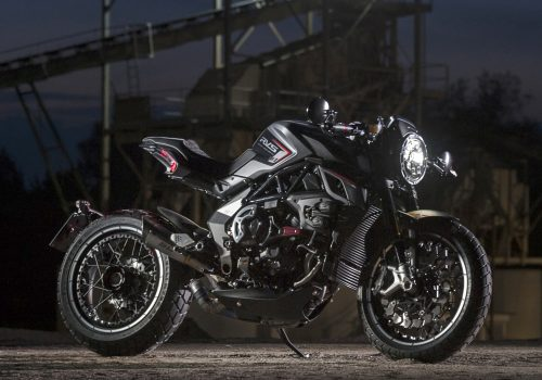 MV Agusta motorcycles ultra-limited edition titanium covered scrambler RVS#1