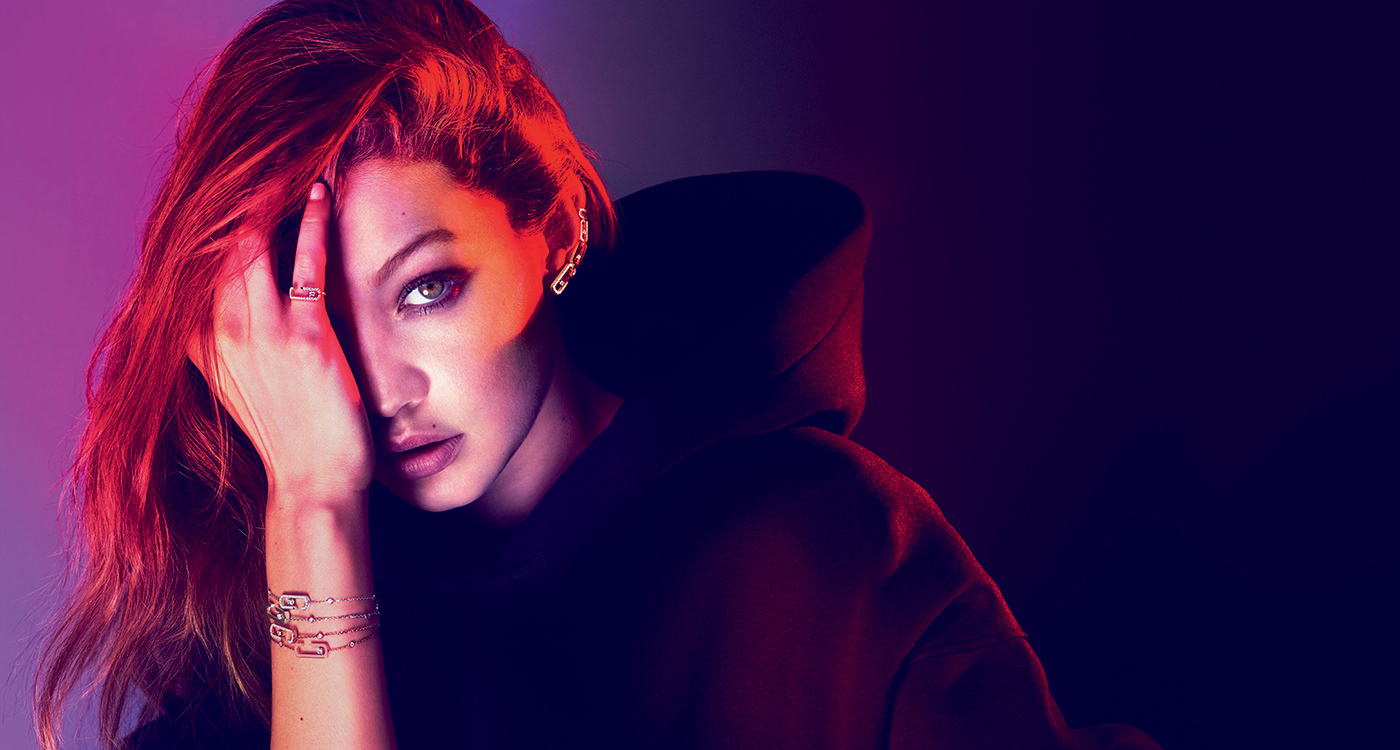 Gigi Hadid messika middle east jewellery
