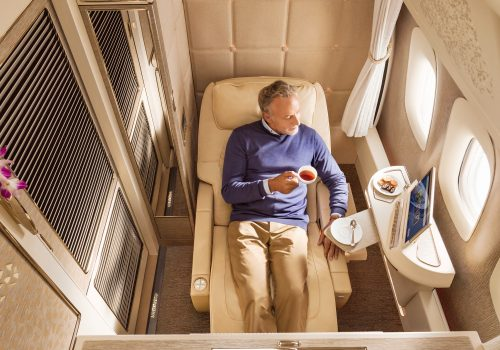 airlines luxury beds