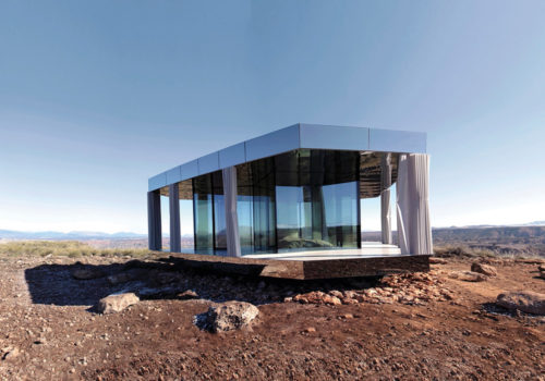 Ofis Arhitekti glass house architecture