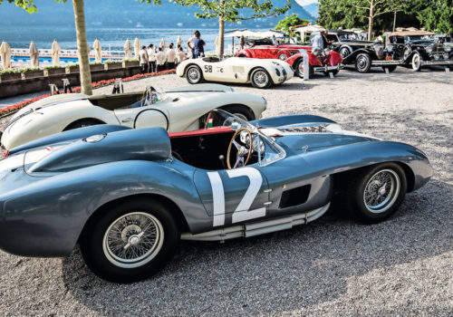Lake Como Concorso d'Eleganza Villa d'Este automotive event