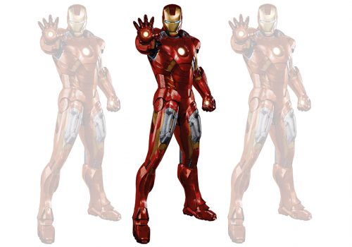 Custom-Made Body Armour Costumes Real-Life Superhero Iron Man