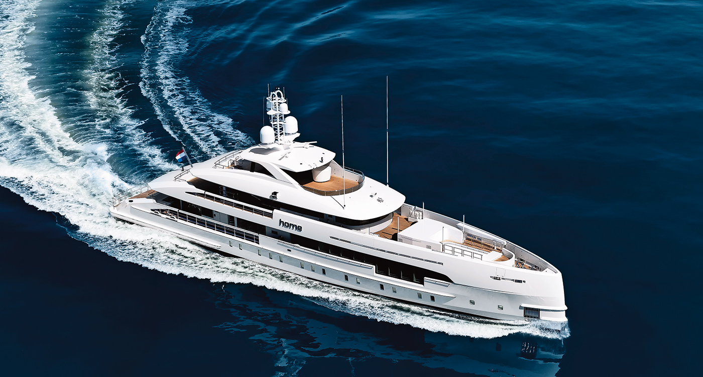 hybrid superyacht Home Dutch shipyard Heesen Yacht