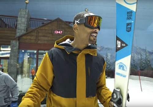 Will Smith Ski Dubai