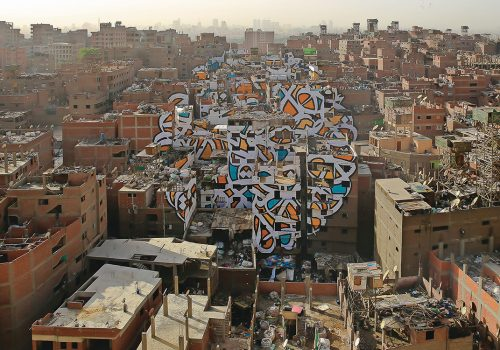 El Seed Cairo street art graffiti middle east artist