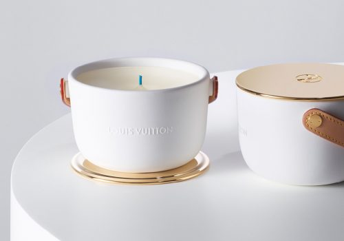 Louis Vuitton candles luxury handmade