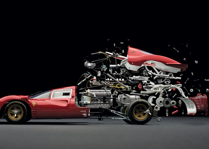 Swiss Artist Fabian Oefner's Spectacular Automotive Explosions Are Possibly the Slowest High-Speed Images Ever Captured