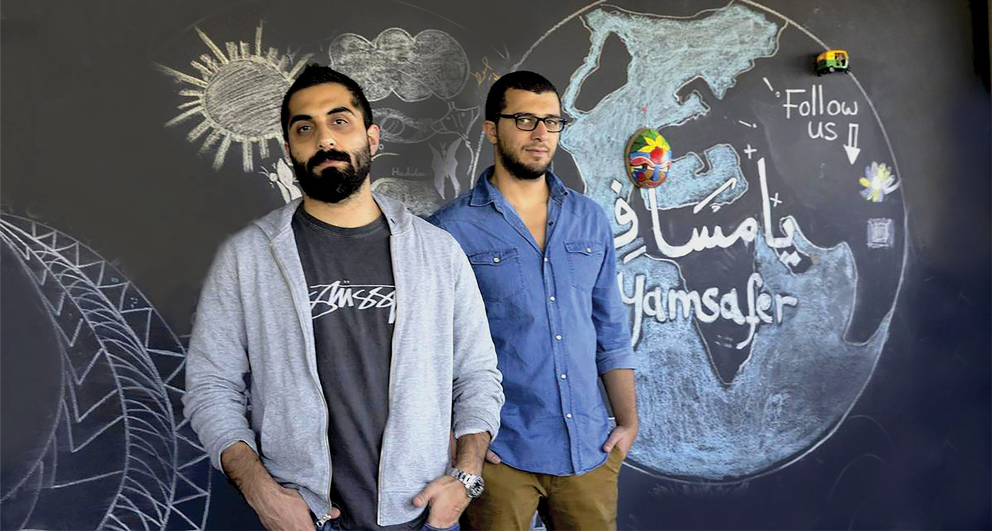 Palestine Yamsafer travel app tech Ramallah MENA Middle East Startup