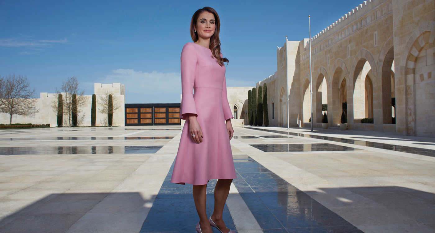 Queen Rania Jordan Amman Royal Family Refugees Islam Women