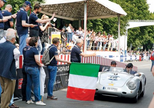 The Mille Miglia hublot race