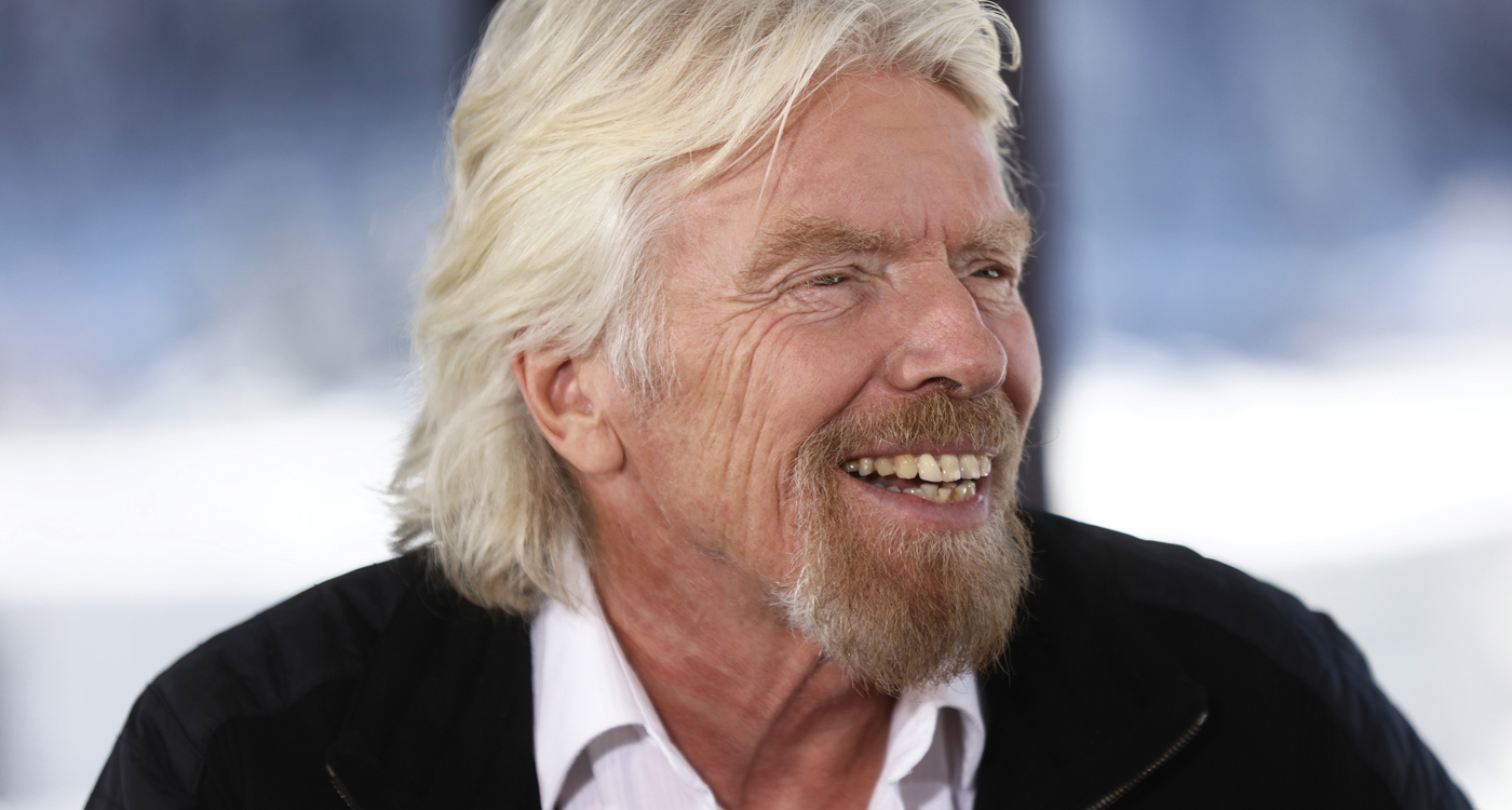 Virgin Galactic Richard Branson
