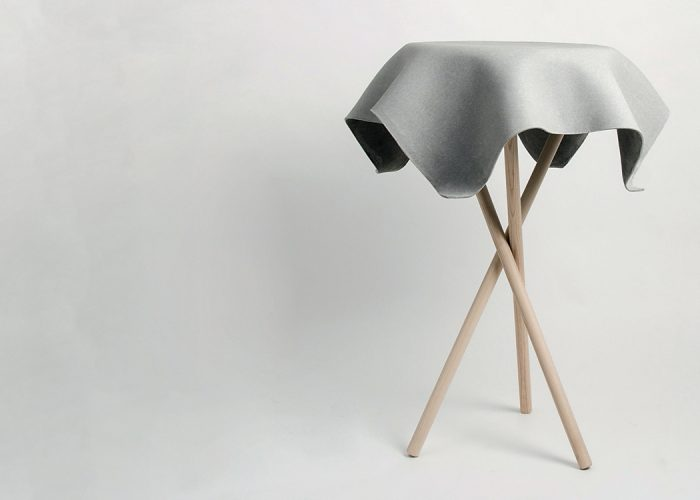This Original Looking table By Swisspearl Stretches the Tensile Strength of Concrete