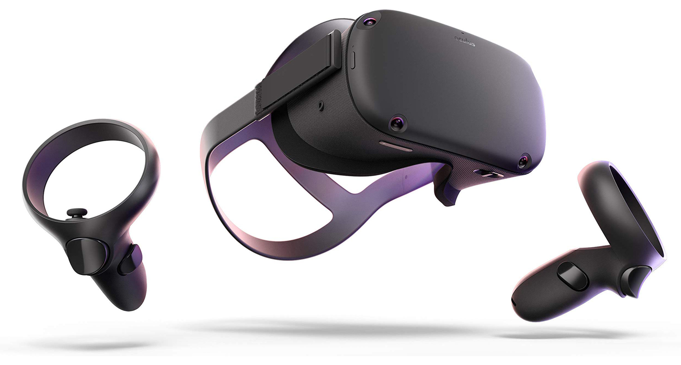 Quest Oculus headset VR virtual reality
