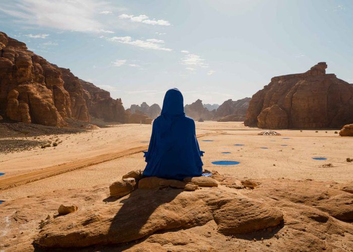 A Biennial Land Art Exhibition from California's Coachella Suddenly Arrived Al Ula (Saudi Arabia) this past March