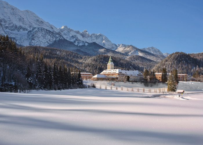 A Favourite Among Germans but Little Known Outside Europe, Schloss Elmau is a Cultural Retreat that's Perfect For a Reboot
