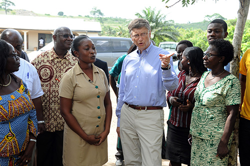 Bill Gates Africa Charity